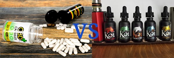 CBD Oil V/s Hemp Capsules