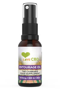 Love CBD Entourage Oil