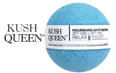Kush Queens CBD Bath Bombs
